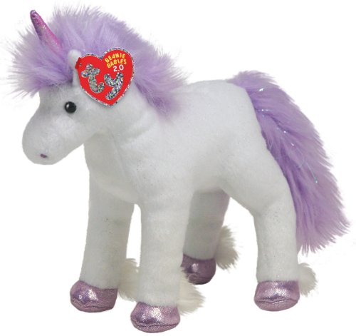 TY BB 2.0 Fable-Unicorn White and Purple - 1