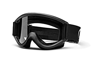 Smith Optics SC Black Clear Lens Goggle