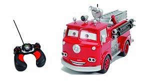 - Radio Commande - Cars Camion Pompier - Rouge - 29 cm: Toys & Games