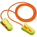3M E-A-R Earsoft Corded Earplugs, Neon Yellow, 200-Pair