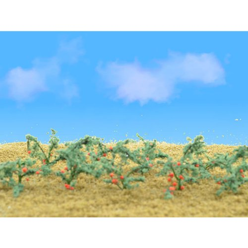 JTT Scenery Products Flowering Plants Tomato Plant O Scale Hobby Train Sceneries
