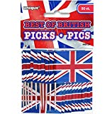 Best Of British Flag Party Picks 30pk
