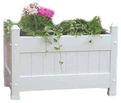 Duratrel Model 11124 White Large Planter Box Fully Assembled - Buy Duratrel Model 11124 White Large Planter Box Fully Assembled - Purchase Duratrel Model 11124 White Large Planter Box Fully Assembled (Duratrel, Home & Garden,Categories,Patio Lawn & Garden,Plants & Planting,Plant Containers & Accessories,Planters)