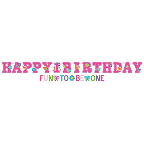 Amscan Sweet 1st Birthday Girl Party Banners