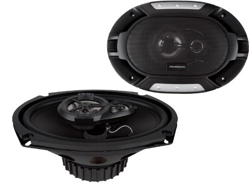 Renegade Rx693 6 X 9 Inches Full Range 3-Way Speakers - Set Of 2 (Black)