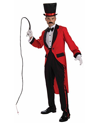 Adult Circus Ringmaster Or Magician Costume Bundle Standard Large 42
