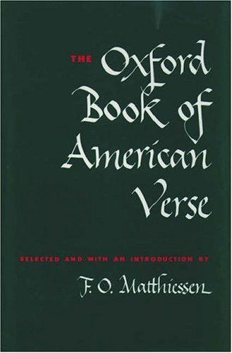Oxford Book of American Verse