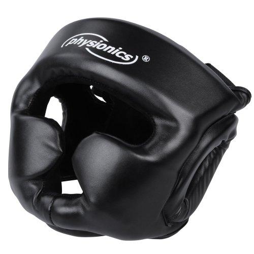 Kopfschutz für Boxtraining oder -Kampf (Größenwahl S-XL) in schwarz