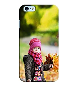 Clarks Girl With Grass Hard Plastic Printed Back Cover/Case For Apple iPhone 6s Plus