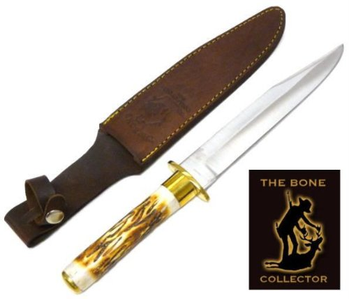 Bone Collector Bone Handle Hunting Knife Bc786 - Hunting Knives