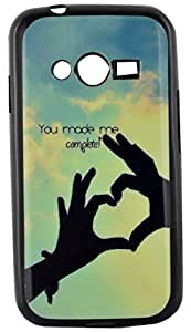 Generic Designer Back Cover for Samsung Galaxy Duos G316 (Multi Color)