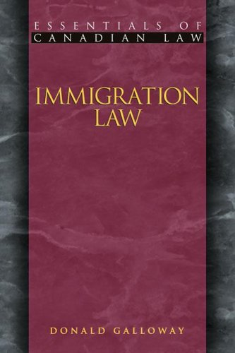 Immigration Law, Donald Galloway