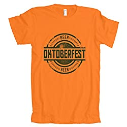 Oktoberfest Vintage Beer Logo American Apparel T-Shirt