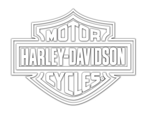 Harley-Davidson Logo Cutz Rear Window Decal (Harley Back Window Decals compare prices)