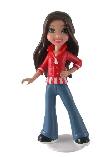 iCarly 4 1/2 inch Fashion Switch Figure iCarly iChat Online Playmates Minature Dolls & Playsets