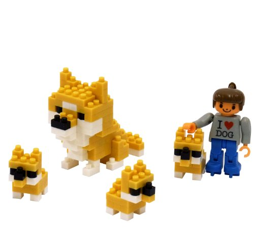 Nanoblock I LOVE DOG ML-032
