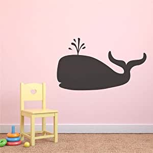 whale repositionable tafel kinderzimmer spielzimmer kids wandaufkleber aufkleber. Black Bedroom Furniture Sets. Home Design Ideas