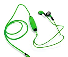 buy Duragadget Exclusive Led Flashing Light Earphones - Vibrant 'Glow In The Dark' Neon Light-Up Usb Rechargeable Earphones In Dazzling Green For Medion Lifetab S10333, Medion Lifetab S8312 & Medion Lifetab P8912 Md 99066