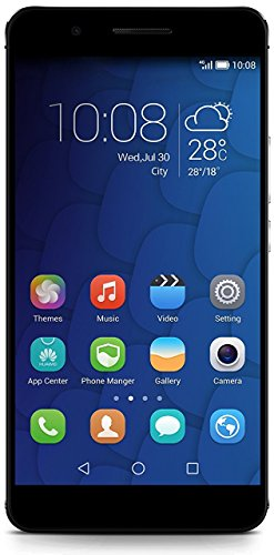 Honor 6 Plus Smartphone (5,5 Zoll (14 cm) Touch-Display, 32 GB Speicher, Android 4.4) schwarz