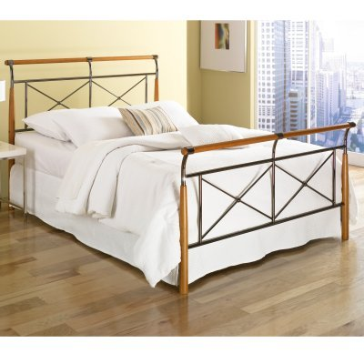 Kendall Sleigh Bed Multicolor - Rn1015 front-332676