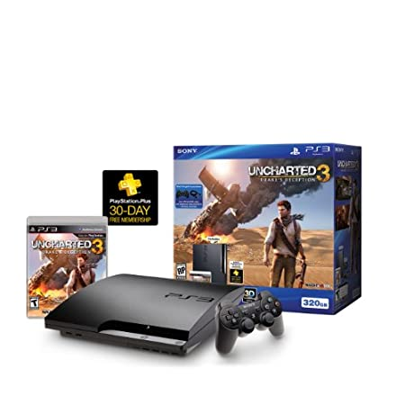 PS3 320GB Uncharted 3 Bundle
