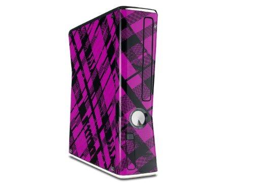 все цены на  Pink Plaid Decal Style Skin for XBOX 360 Slim Vertical (OEM Packaging)  онлайн