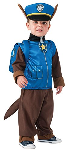 Paw Patrol Chase Toddler/Child Costume - X-Small (2T-4T)