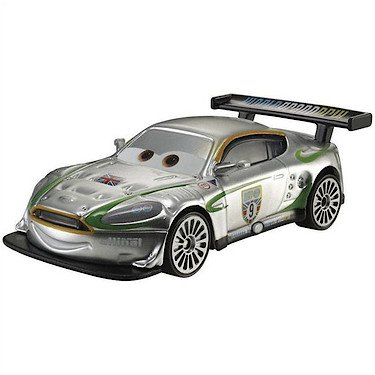 Disney Pixar Cars - 2013 Silver Racer Series - Nigel Gearsley
