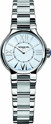 Raymond Weil Women's 5927-ST-00907 Noemia Mother-Of-Pearl Dial Watch