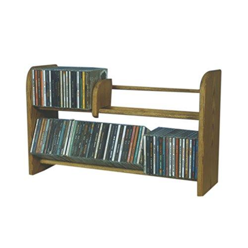 Row Dowel CD Rack Capacity 110