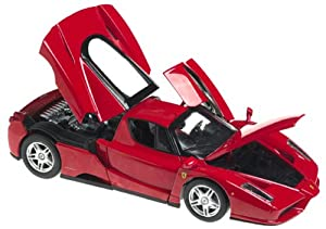 Hot Wheels 1:18 Scale Hot Wheels Enzo Ferrari - Red