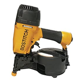 Bostitch N66C-1 1-1/4-inch to 2-1/2-inch Coil Siding Nailer with Magnesium Housing