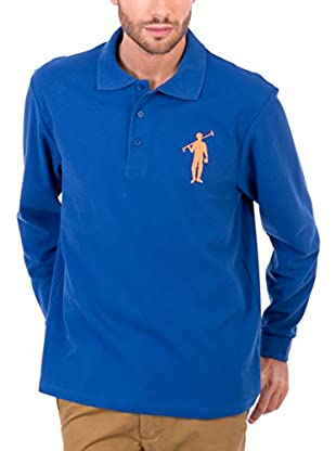 Polo Club Polo Original Big Player Cro Ml (Azul Royal)