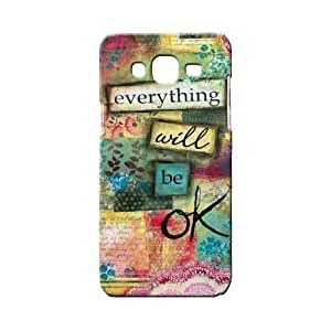 BLUEDIO Designer 3D Printed Back case cover for Samsung Galaxy ON5 - G2579