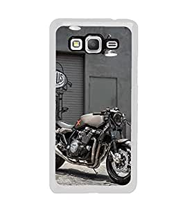 Racing Bike 2D Hard Polycarbonate Designer Back Case Cover for Samsung Galaxy Grand Prime :: Samsung Galaxy Grand Prime Duos :: Samsung Galaxy Grand Prime G530F G530FZ G530Y G530H G530FZ/DS