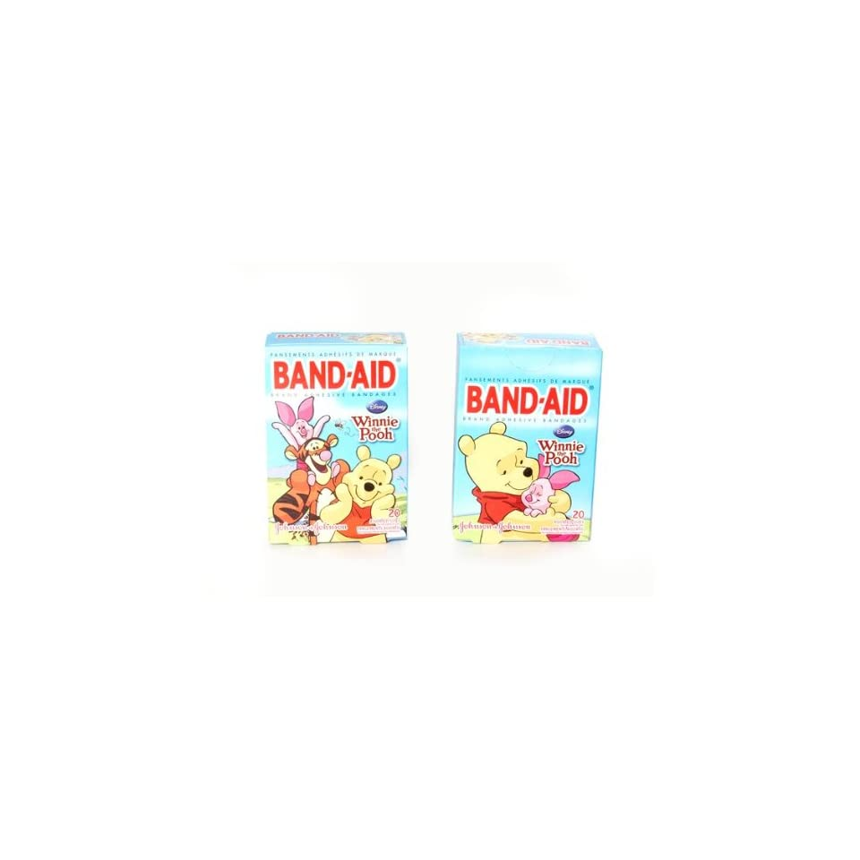 Band Aid 20 Count Adhesive Bandages   Disneys Winnie the Pooh and Friends