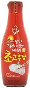 Sempio Vinegared Hot Chili Sauce, 11.64 Ounce by Sempio