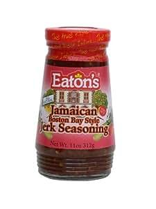 Eaton's Jamaican Boston Bay Style Jerk Seasoning 11oz