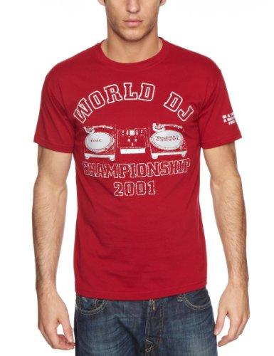 DMC Shaun of the Dead (DMC 2001) Men's T-Shirt Red/Grey XX-Large
