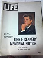 Life John F. Kennedy Memorial Edition by…