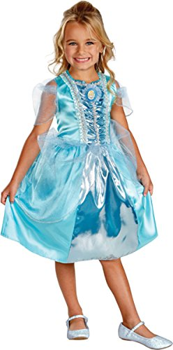 Morris Costumes CINDERELLA SPARKLE CHILD CLASS, blue, 4-6