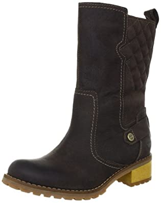 Timberland 添博兰女士真皮防水中靴tan色Women's Apley Mid Boot$92.50