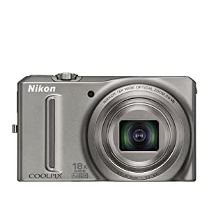 COOLPIX S9100 Silver