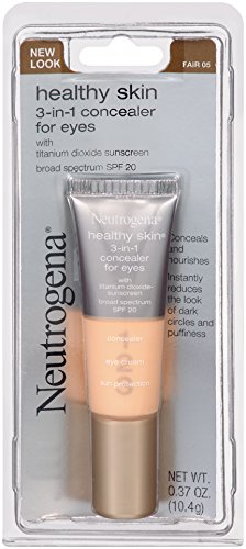 Neutrogena 3-in-1 Concealer For Eyes, SPF 20, Fair 05, 0.37 Ounce