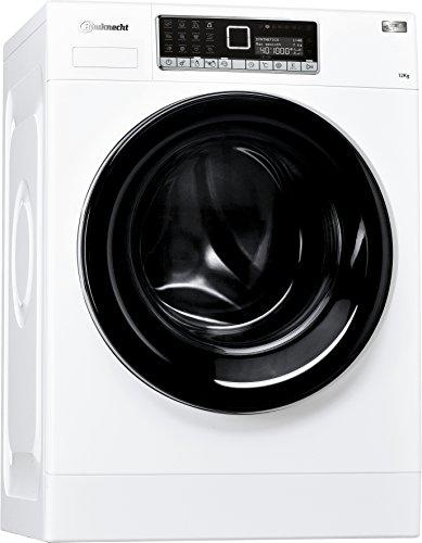 Bauknecht WM Style 1224 ZEN Waschmaschine FL / A+++ / 140 kWh/Jahr / 1400 UpM / 12 kg / Extrem leise mit 49 db /Mehrsprachiges Touch-Display / weiß