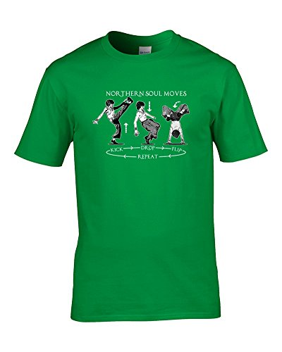 Ice-Tees -  T-shirt - Colletto crew  - Maniche corte - Uomo lime XX-Large