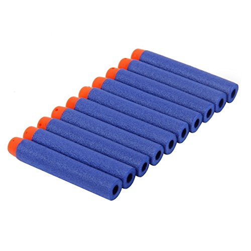 ultnice-100pcs-72cm-refill-foam-bullet-darts-for-nerf-n-strike-elite-series-blasters-kids-toy-gunblu