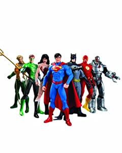 DC Comics New 52 Justice League 7-Pack Action Figure Box Set