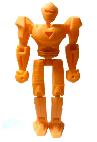3D Printed Robot, Orange