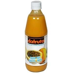 Dafruta Passion Fruit Juice Concentrate - 16.9 FL.Oz | Suco Concentrado de Maracujá Dafruta - 500ml - (PACK OF 04)